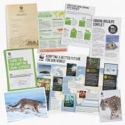 Snow leopard welcome pack